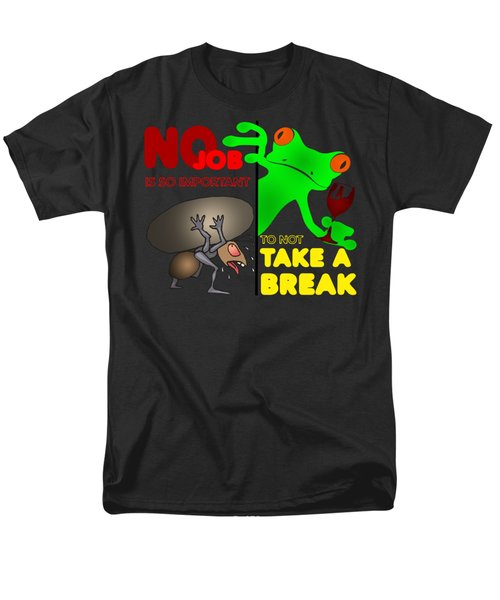 Take A Break Men's T-Shirt  (Regular Fit) by Felikss Veilands