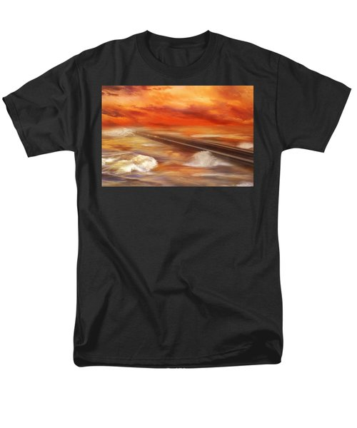 Take The Weather With You Men's T-Shirt  (Regular Fit) by Iryna Goodall