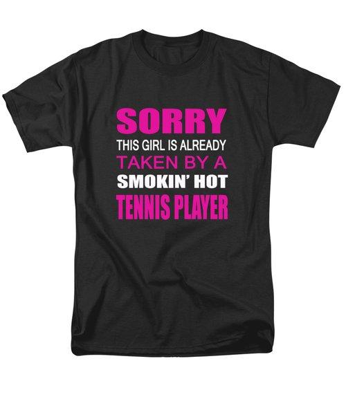 Taken By A Tennis Player Men's T-Shirt  (Regular Fit) by Sophia