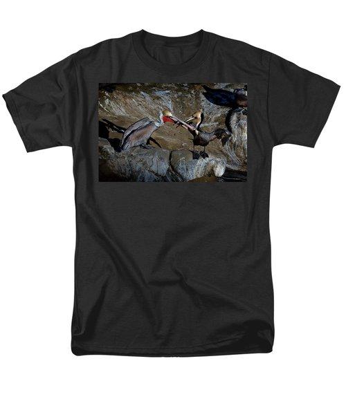 Taking A Bite Men's T-Shirt  (Regular Fit) by James David Phenicie
