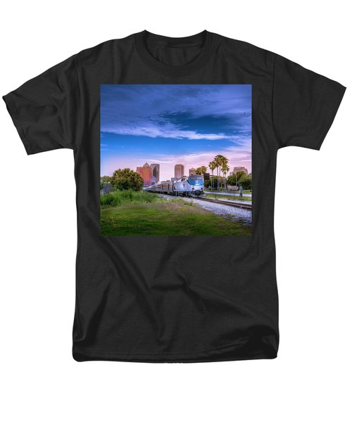 Men's T-Shirt  (Regular Fit) featuring the photograph Tampa Departure by Marvin Spates