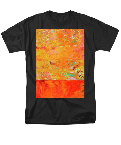 Men's T-Shirt  (Regular Fit) featuring the photograph Tangerine Dream by Skip Hunt
