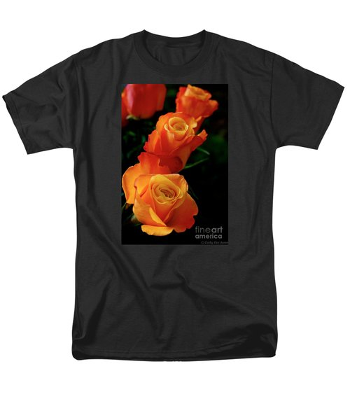 Tango In Three Men's T-Shirt  (Regular Fit) by Cathy Dee Janes
