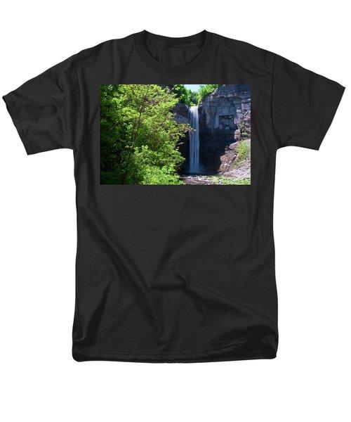 Taughannock Falls 0466 Men's T-Shirt  (Regular Fit) by Guy Whiteley
