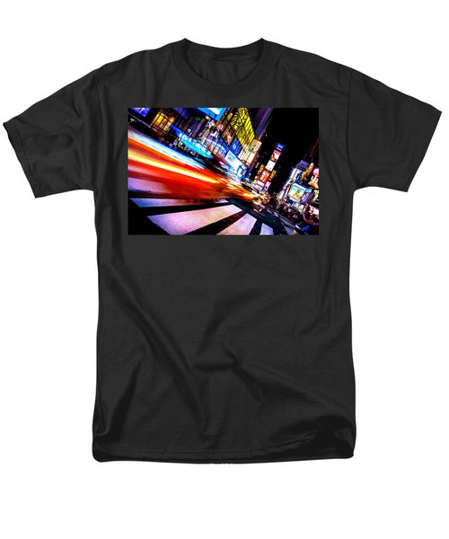 Taxis In Times Square Men's T-Shirt  (Regular Fit)