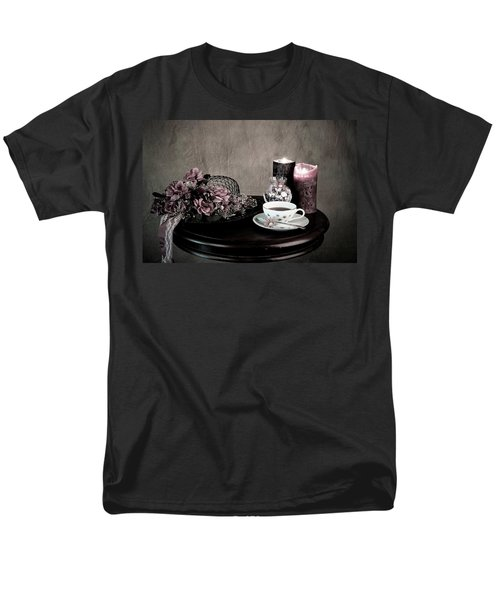 Men's T-Shirt  (Regular Fit) featuring the photograph Tea Party Time by Sherry Hallemeier