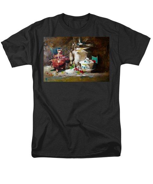 Tea Time Men's T-Shirt  (Regular Fit) by Khalid Saeed