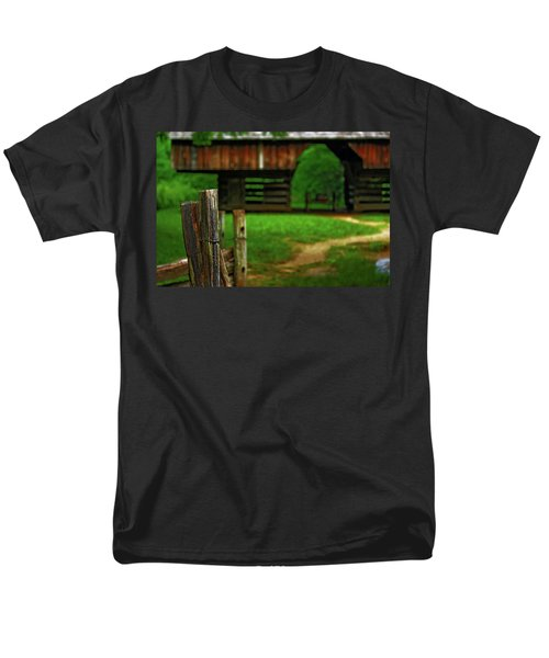 Tennesse Barn Men's T-Shirt  (Regular Fit) by Rowana Ray