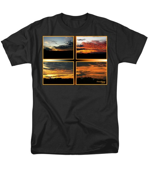 Men's T-Shirt  (Regular Fit) featuring the photograph Tennessee Sunset by EricaMaxine  Price
