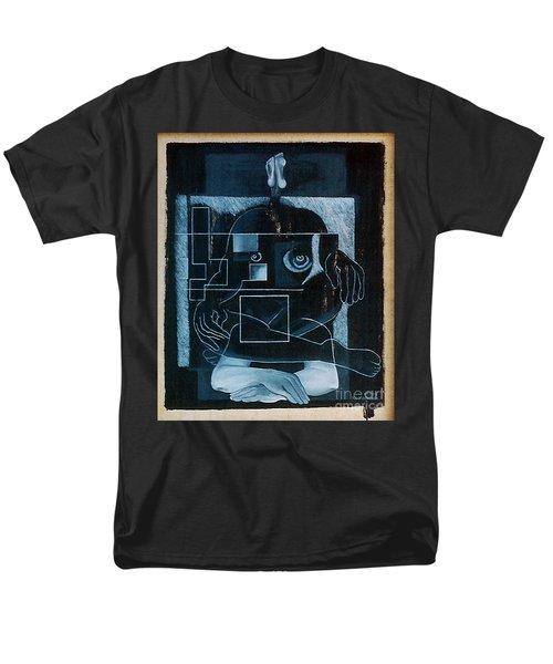 Tense Leisure Men's T-Shirt  (Regular Fit) by Fei A