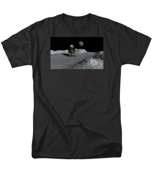 Testing The Waters Men's T-Shirt  (Regular Fit) by David Robinson