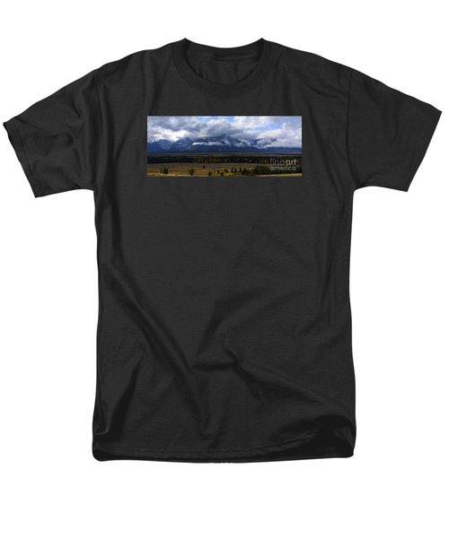 Teton Range # 1 Men's T-Shirt  (Regular Fit) by Sandy Molinaro
