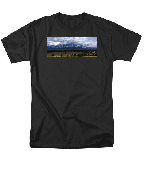 Teton Range # 1 Men's T-Shirt  (Regular Fit)