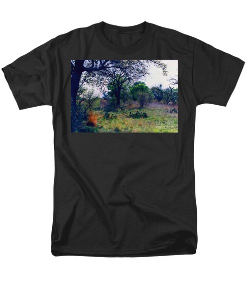 Texas Hill Country Men's T-Shirt  (Regular Fit) by Fred Jinkins