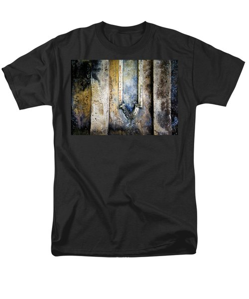 Men's T-Shirt  (Regular Fit) featuring the photograph Textured Wall by Marion McCristall