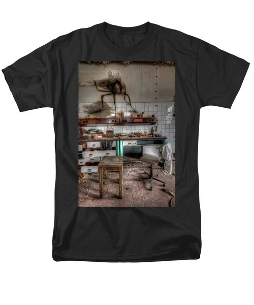 Th Mad Scientist  Men's T-Shirt  (Regular Fit) by Nathan Wright