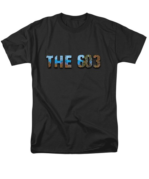 The 603 Men's T-Shirt  (Regular Fit) by Mim White