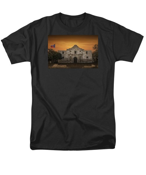 The Alamo Mission In San Antonio Men's T-Shirt  (Regular Fit) by Randall Nyhof