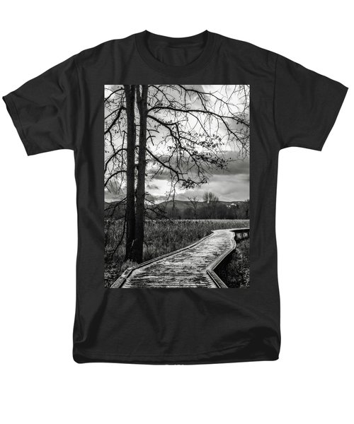 Men's T-Shirt  (Regular Fit) featuring the photograph The Appalachian Trail by Eduard Moldoveanu