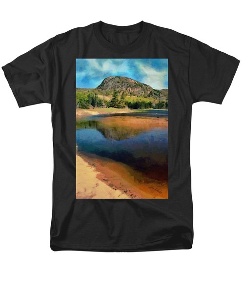 Men's T-Shirt  (Regular Fit) featuring the painting The Beehive by Jeff Kolker