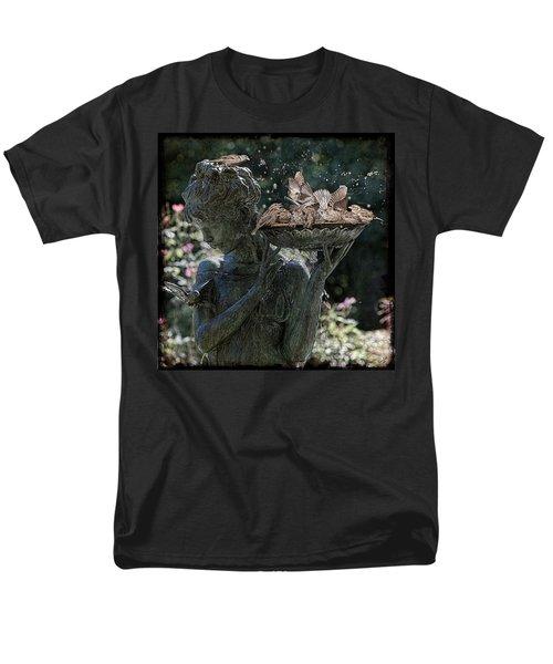 The Bird Bath Men's T-Shirt  (Regular Fit) by Chris Lord