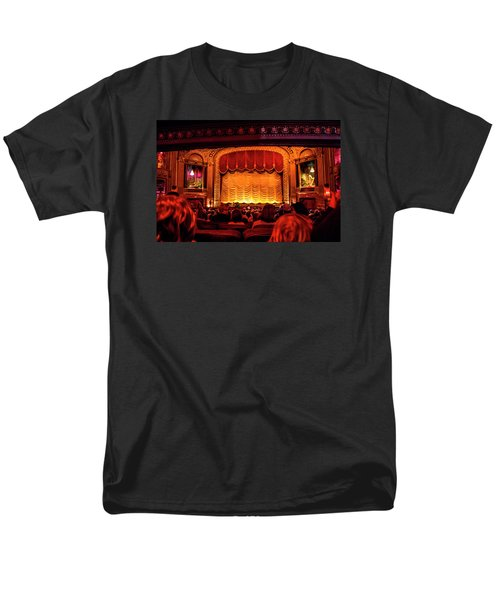 Men's T-Shirt  (Regular Fit) featuring the photograph The Byrd Theatre by Jean Haynes