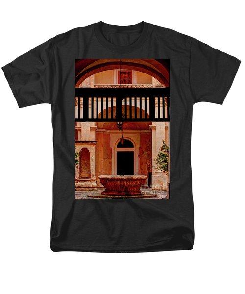 The Court Yard Malta Men's T-Shirt  (Regular Fit) by Tom Prendergast