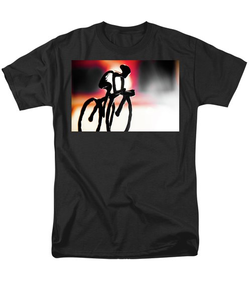Men's T-Shirt  (Regular Fit) featuring the photograph The Cycling Profile  by David Sutton