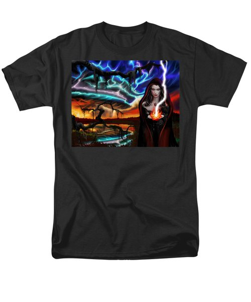 The Dark Caster Calls The Storm Men's T-Shirt  (Regular Fit) by James Christopher Hill