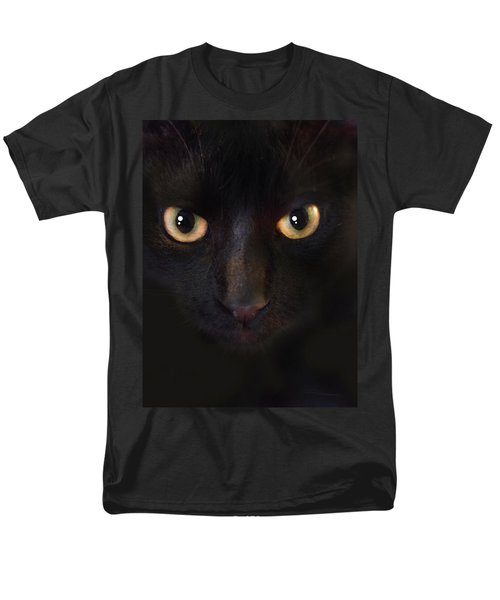 The Dark Cat Men's T-Shirt  (Regular Fit) by Gina Dsgn