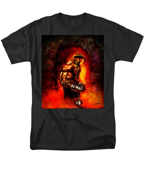 Men's T-Shirt  (Regular Fit) featuring the digital art The Devil's Henchman by Kim Gauge