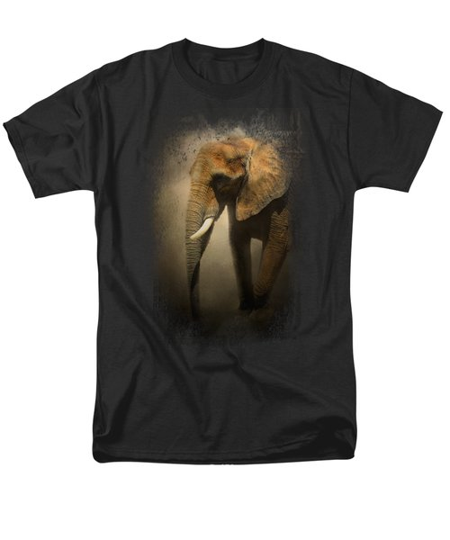 The Elephant Emerges Men's T-Shirt  (Regular Fit) by Jai Johnson