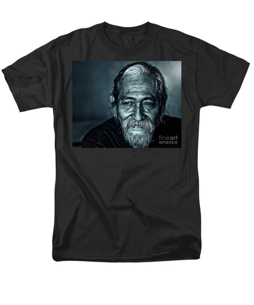 The Face Men's T-Shirt  (Regular Fit) by Charuhas Images