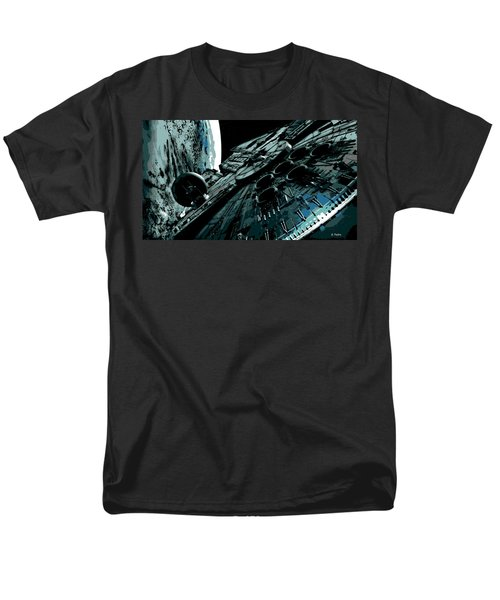 the Falcon Men's T-Shirt  (Regular Fit) by George Pedro