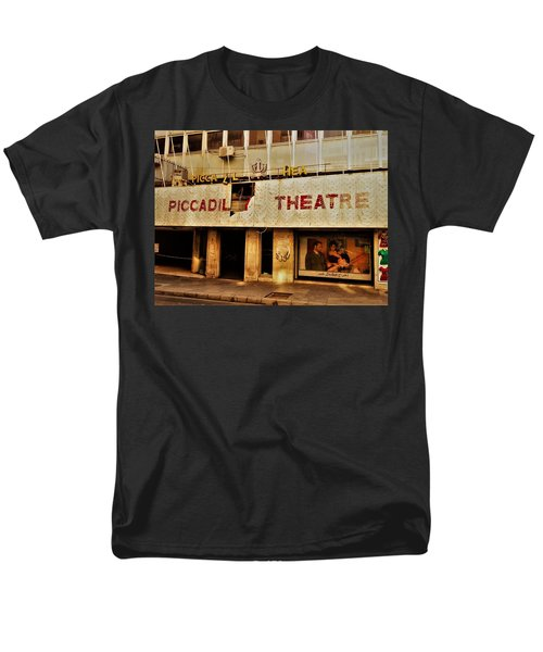 The Famous Beirut Picadilly Theater  Men's T-Shirt  (Regular Fit) by Funkpix Photo Hunter