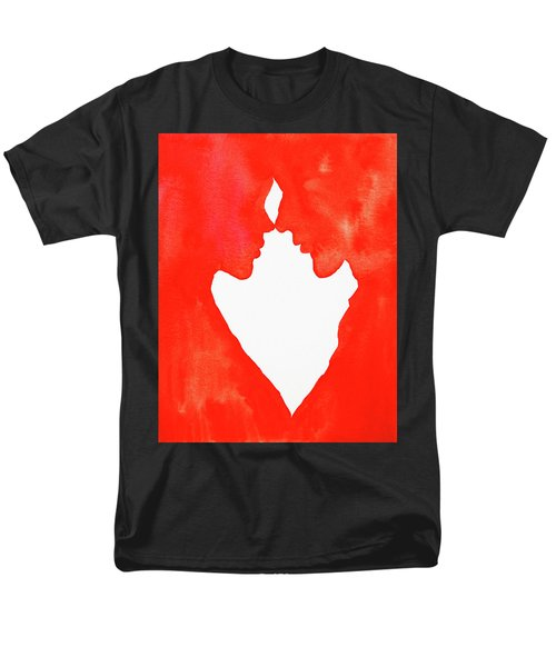 The Flame Of Love Men's T-Shirt  (Regular Fit) by Iryna Goodall