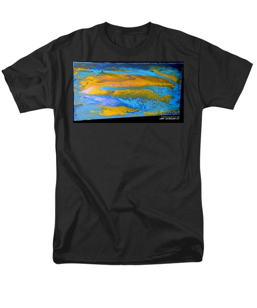 the GATOR in abstracr Men's T-Shirt  (Regular Fit)