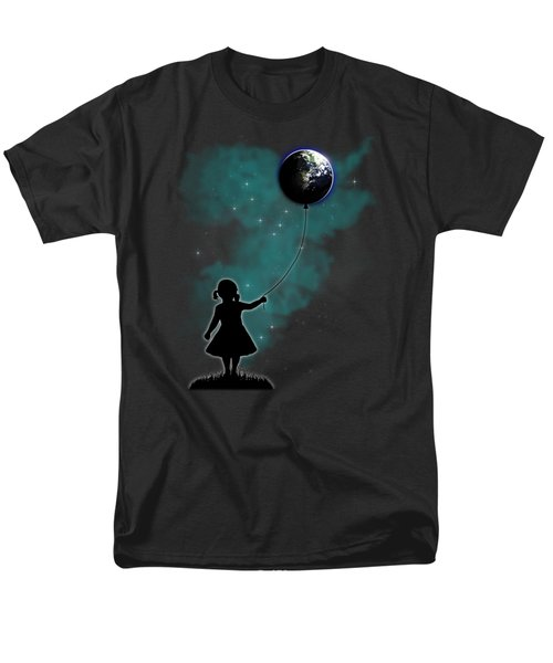 The Girl That Holds The World Men's T-Shirt  (Regular Fit) by Nicklas Gustafsson