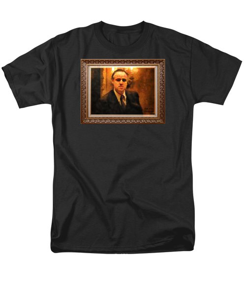 The Godfather Men's T-Shirt  (Regular Fit) by Mario Carini