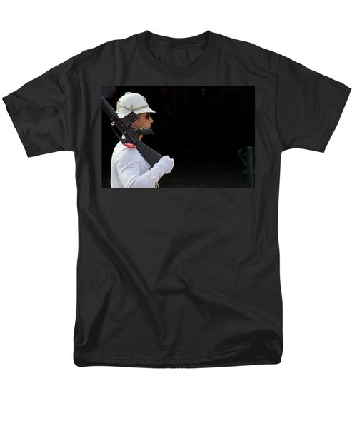 Men's T-Shirt  (Regular Fit) featuring the photograph The Guard by Keith Armstrong