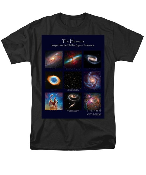 The Heavens - Images From The Hubble Space Telescope Men's T-Shirt  (Regular Fit) by David Perry Lawrence