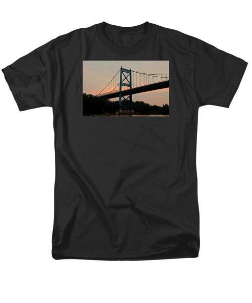 The High Level Aka Anthony Wayne Bridge I Men's T-Shirt  (Regular Fit) by Michiale Schneider