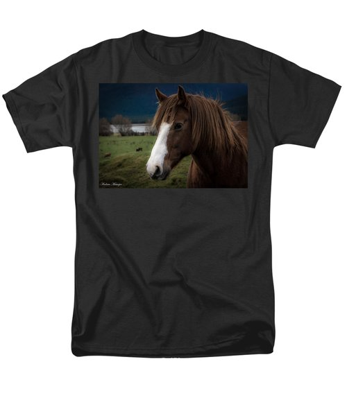 The Horse Men's T-Shirt  (Regular Fit) by Andrew Matwijec