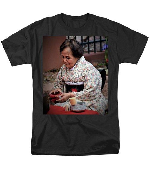 The Japanese Tea Ceremony Men's T-Shirt  (Regular Fit) by John Glass