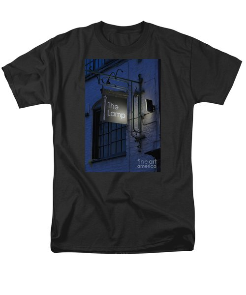 The Lamp Men's T-Shirt  (Regular Fit) by David  Hollingworth