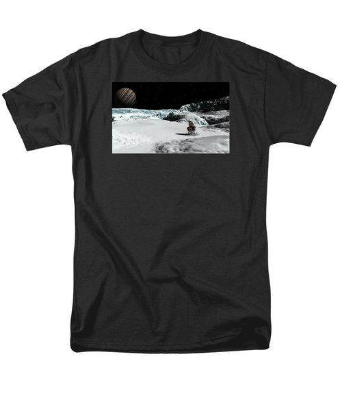 The Lander Ulysses On Europa Men's T-Shirt  (Regular Fit) by David Robinson