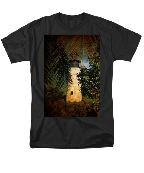 The Lighthouse In Key West Men's T-Shirt  (Regular Fit)