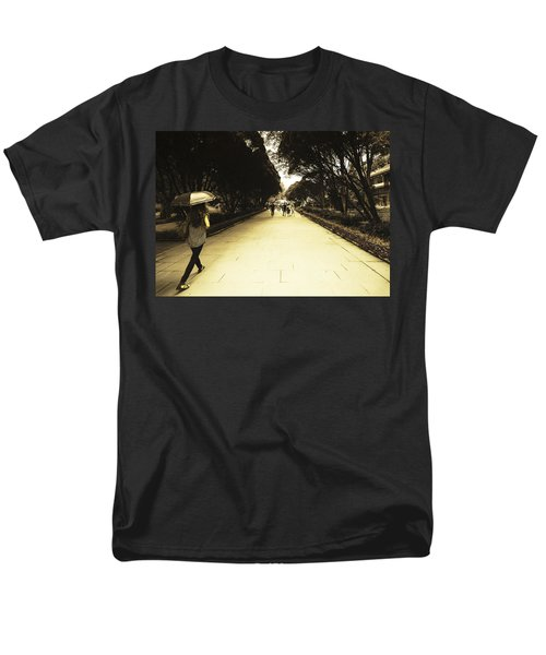 The Long Walk Men's T-Shirt  (Regular Fit) by Patrick Kain