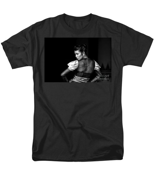 The Look Men's T-Shirt  (Regular Fit) by Charuhas Images