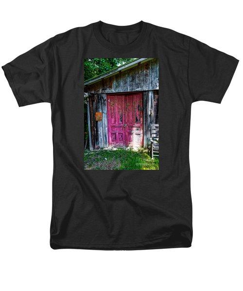 The Magenta Doors Men's T-Shirt  (Regular Fit) by Paul Mashburn